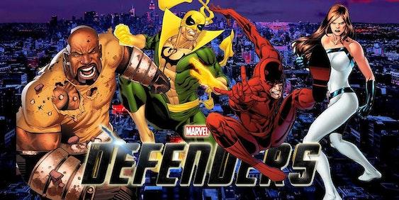 Luke Cage, Daredevil, Jessica Jones, Iron Fist
