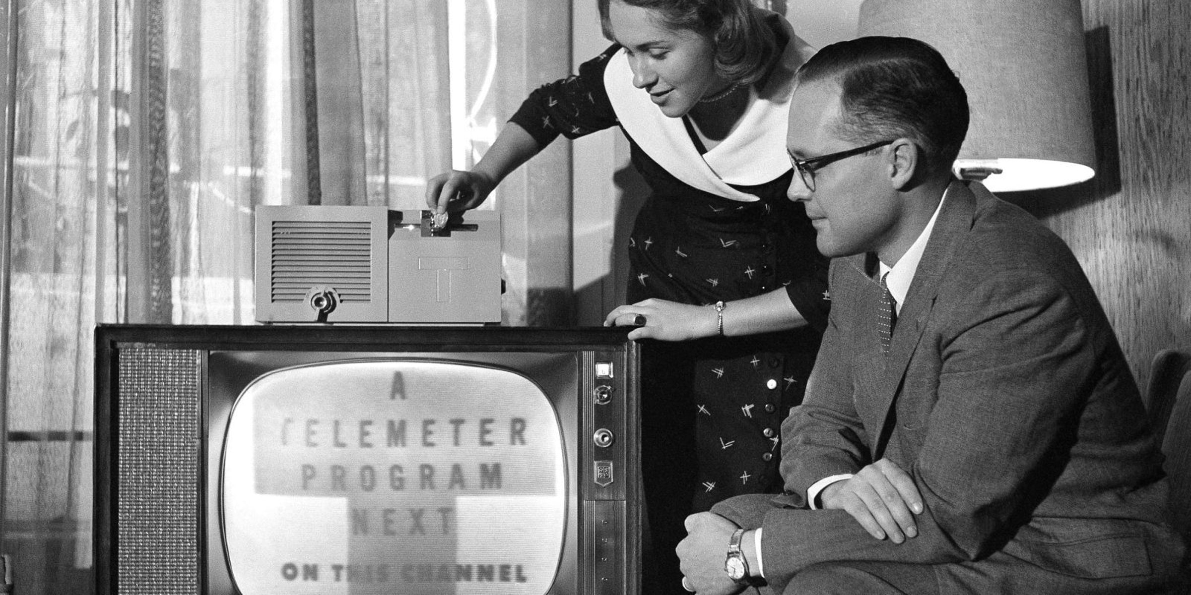 Telemeter, the Nuclear Age Coin-Operated Television Streaming Service