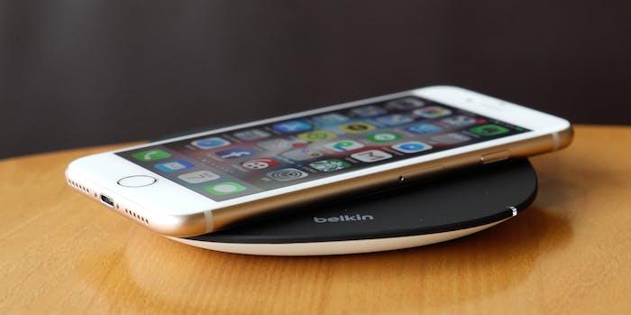 belkin wireless charge pad