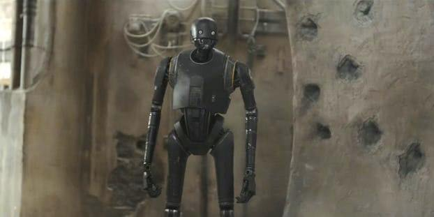 """K-2So in """"Rogue One: A Star Wars Story'"""