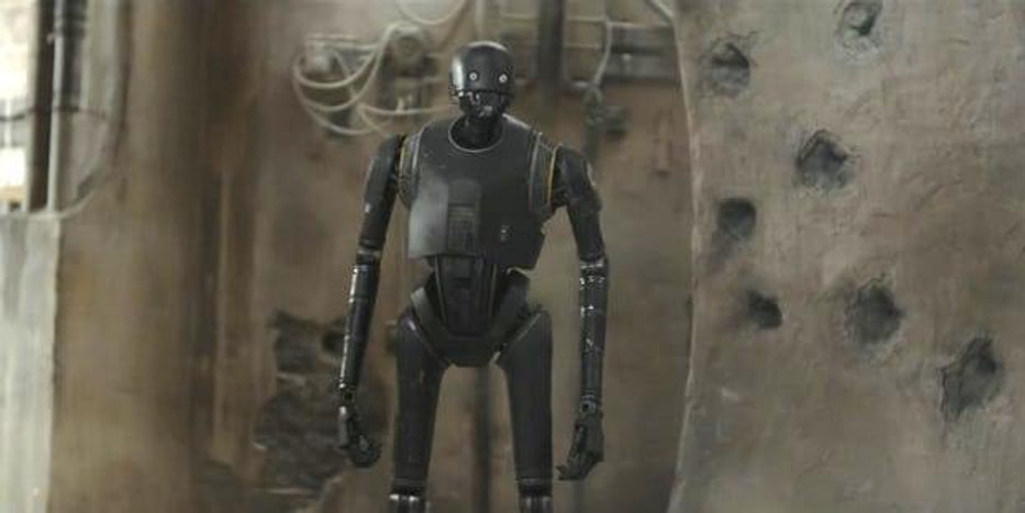 "K-2So in ""Rogue One: A Star Wars Story'"
