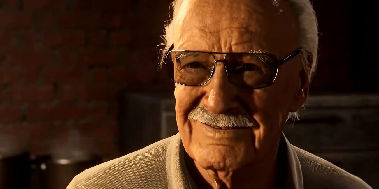 Stan Lee's cameo in 'Spider-Man' on PS4