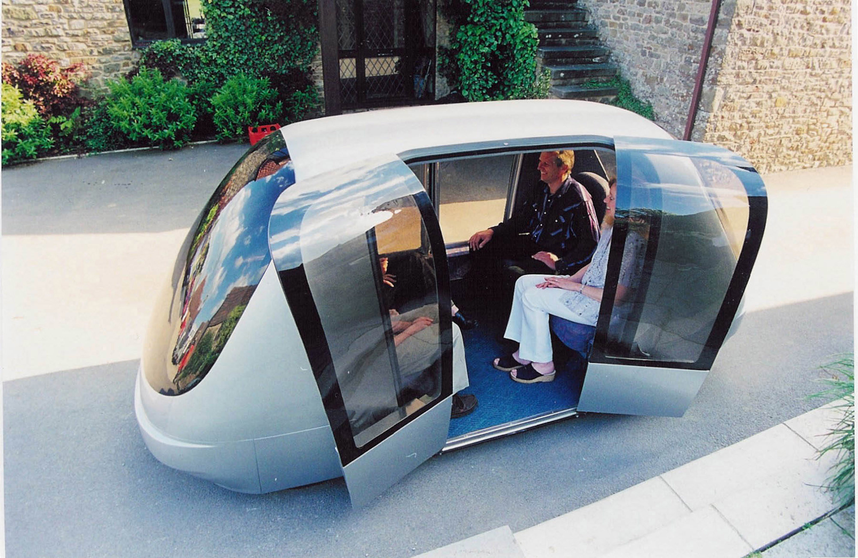 Will the day come where we push a button and a car like this shows up at our door?