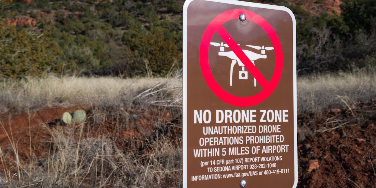 Sedona No Drone Zone