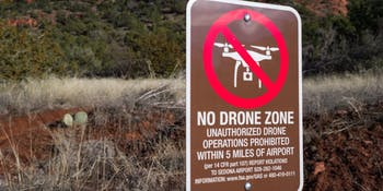 Sedona No Drone Zone