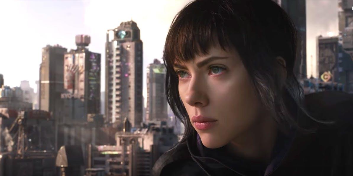 """Scarlett Johannsen in 'Ghost in the Shell"""""""