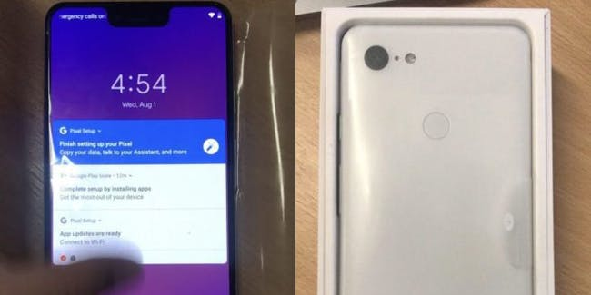 google pixel 3 xl leak unboxing smartphone