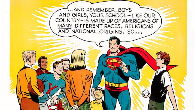 They should listen to Superman.