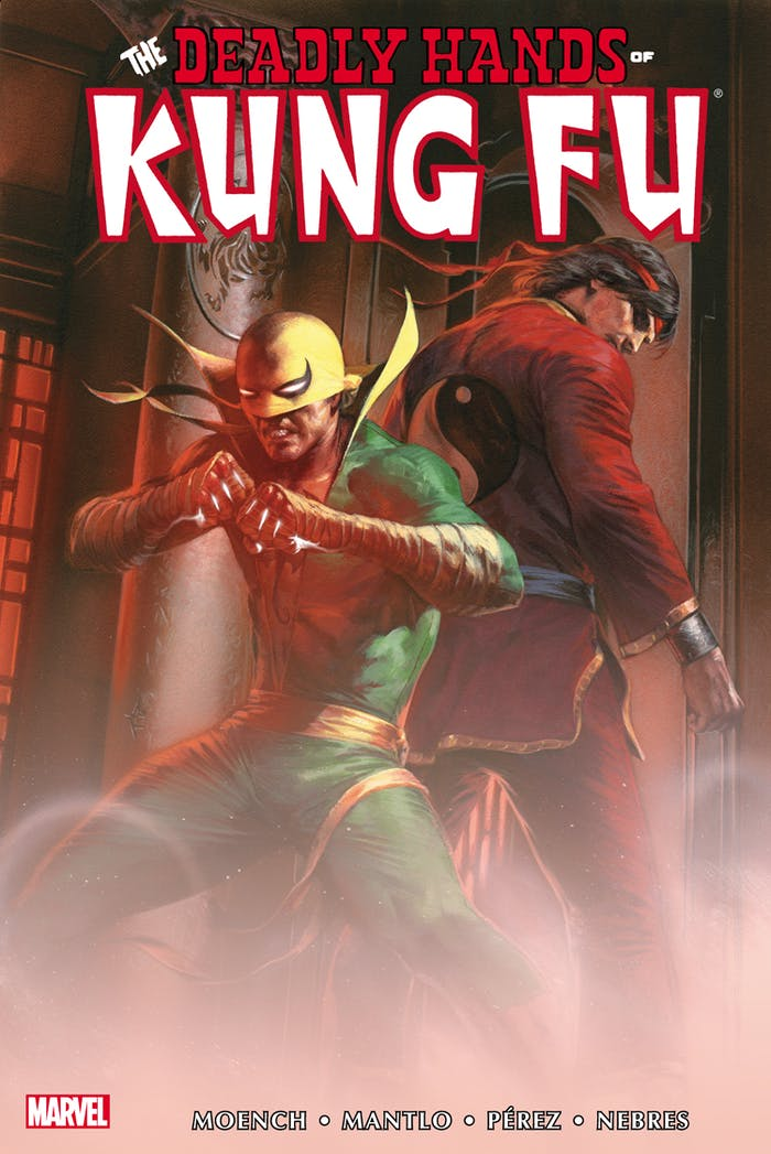 Deadly Hands of Kung Fu Iron Fist Marvel