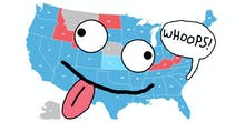 Of Course You Fell for the Fake Millennial Voting Map