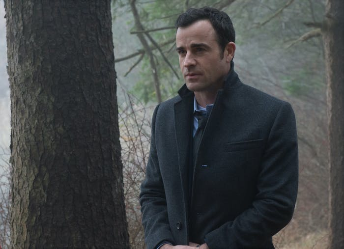 Justin Theroux in 'The Girl on The Train'