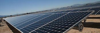 Donald Trump Border Wall Solar Panels
