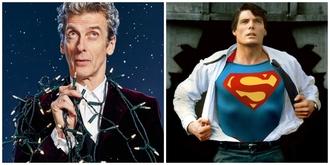 Doctor Who Christmas Specials.Every Marvel And Dc Superhero Easter Egg In The Doctor Who