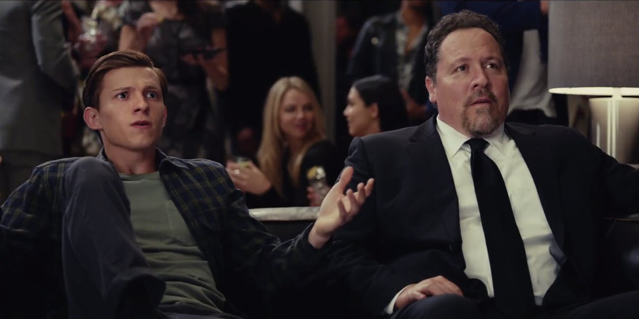 Tom Holland's Peter Parker might be joined by Jon Favreau's Happy Hogan in 'Spider-Man: Far From Home'.