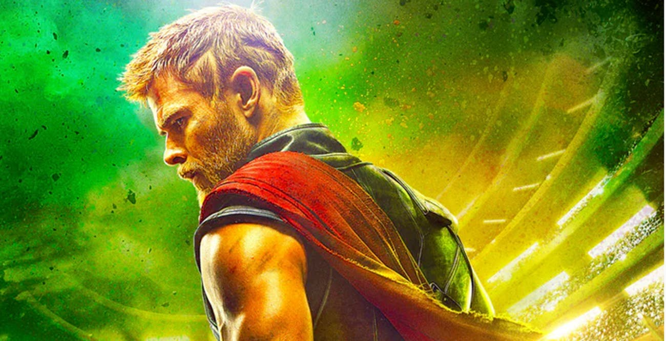The 'Thor: Ragnarok' poster is the first to show the hero without his hammer.