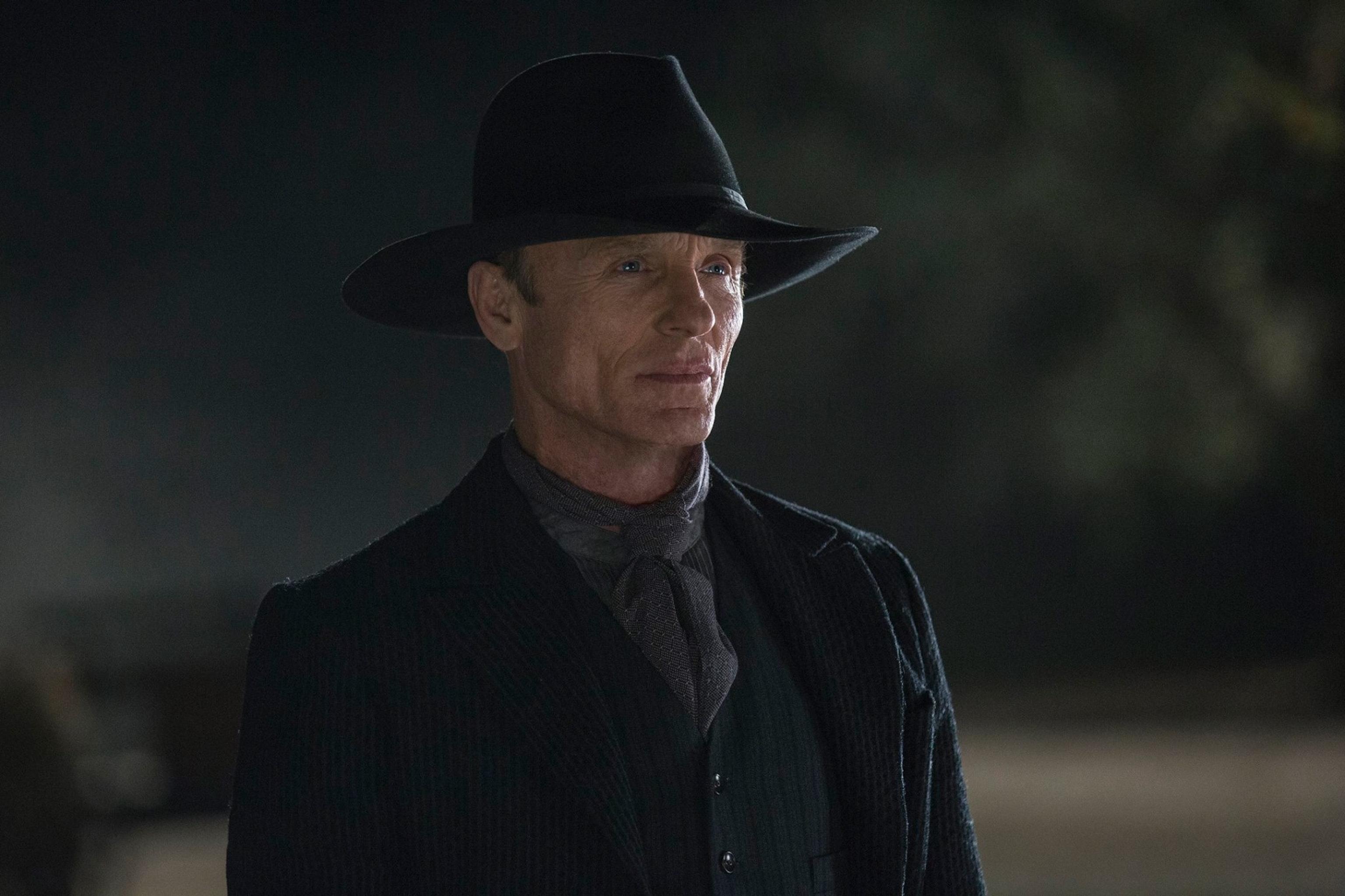 Ed Harris as The Man in Black