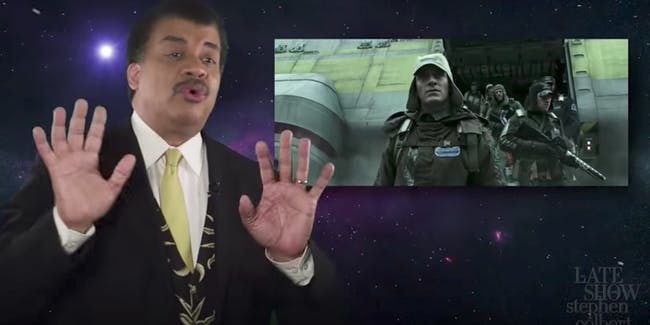 """Neil deGrasse Tyson reviews how scientifically accurate """"Alien: Covenant"""" is."""