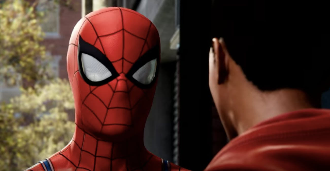 7fc9072df53e0a Spider-Man  PS4  Miles Morales Meets Spidey in New Video Game ...