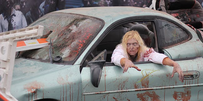 Zombie Car Crash