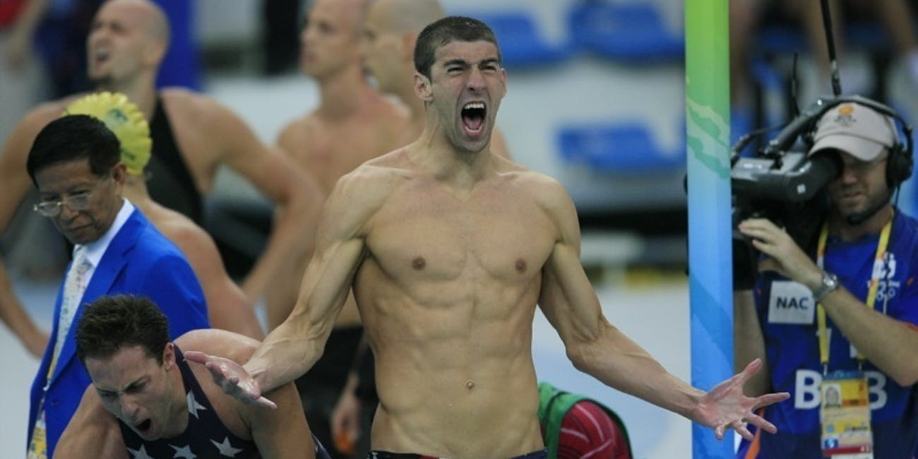 Michael Phelps olympics race swimming meet pool