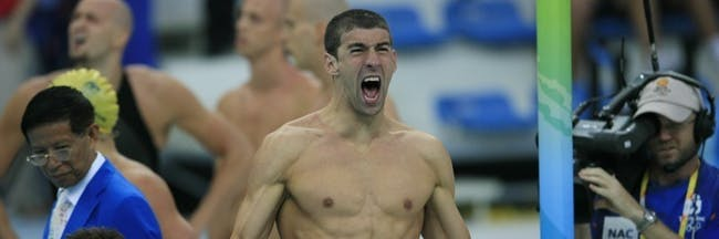 Michael Phelps olympics race swimming meet pool