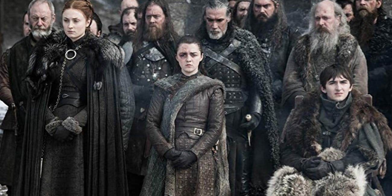 Sophie Turner, Maisie Williams, Isaac Hempstead Wright on 'Game of Thrones'