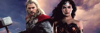 Thor and Wonder Woman