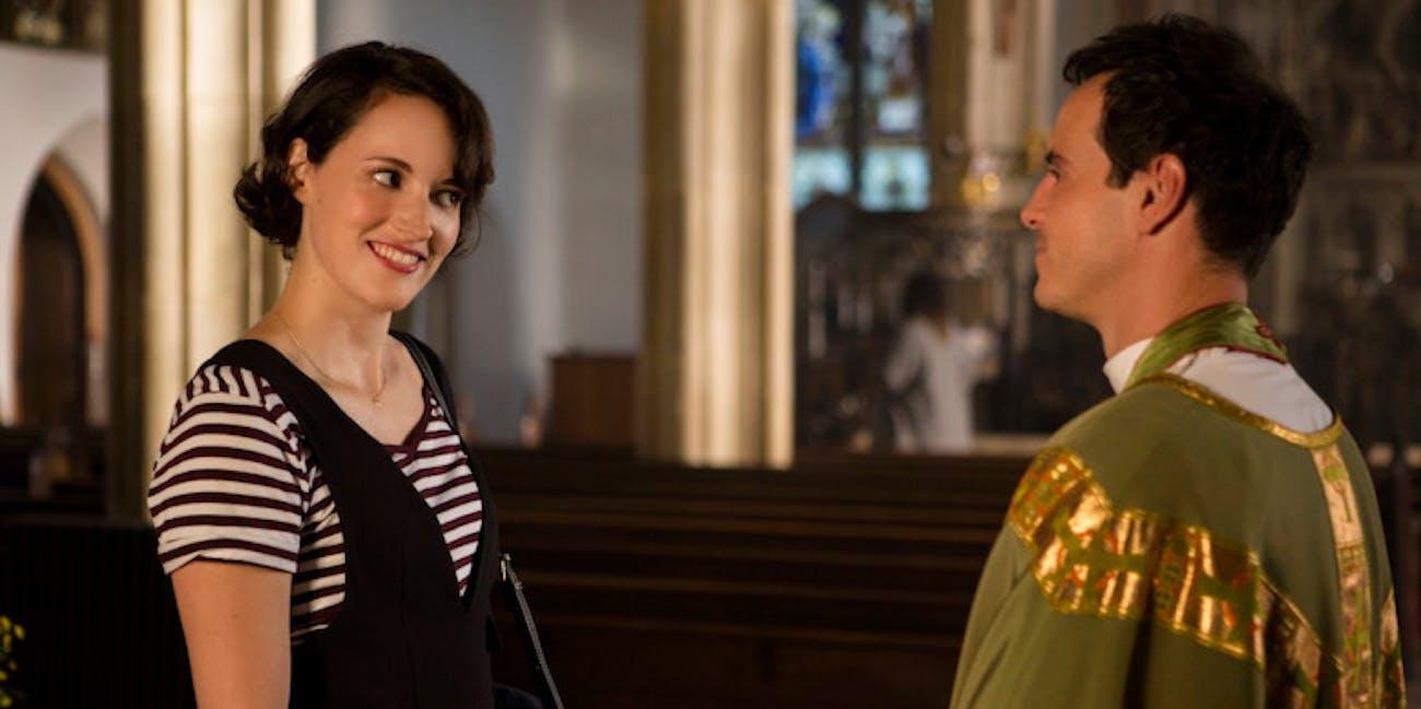 Phoebe Waller-Bridge and Andrew Scott in 'Fleabag' Season 2
