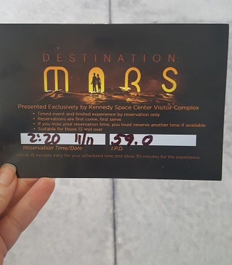 Sorry Willy Wonka, but Martian tickets are better than golden tickets.