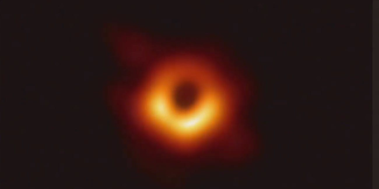 Astronomers captured the first-ever image of a black hole.