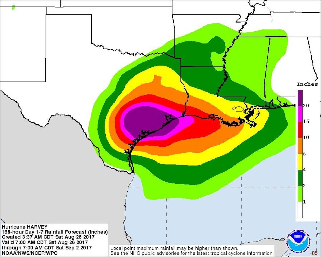14 That Explain Houston s Devastating Flooding
