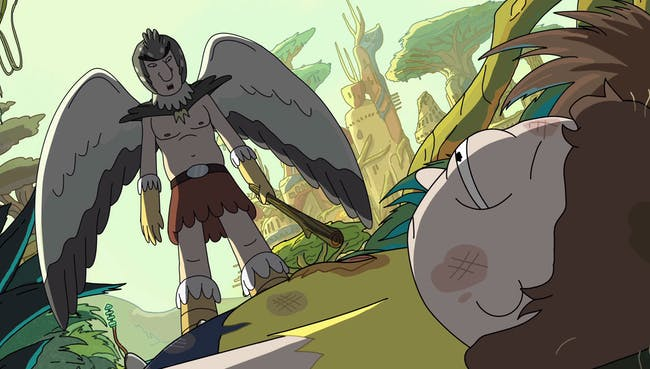 birdperson rick and morty