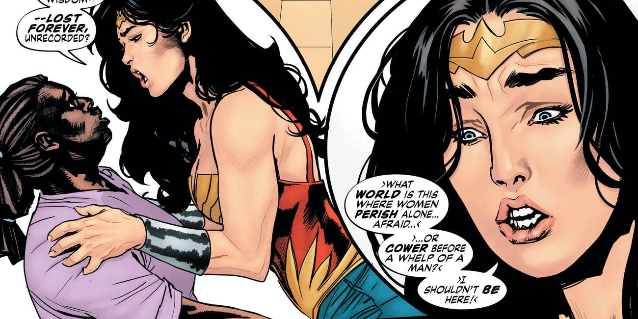 Wonder Woman Is Sexy Again Thanks to Grant Morrison and ...