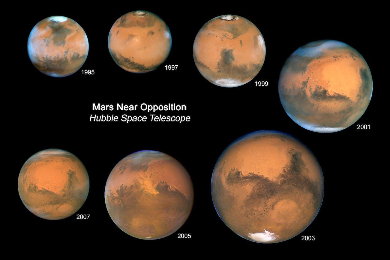 Mars light travel