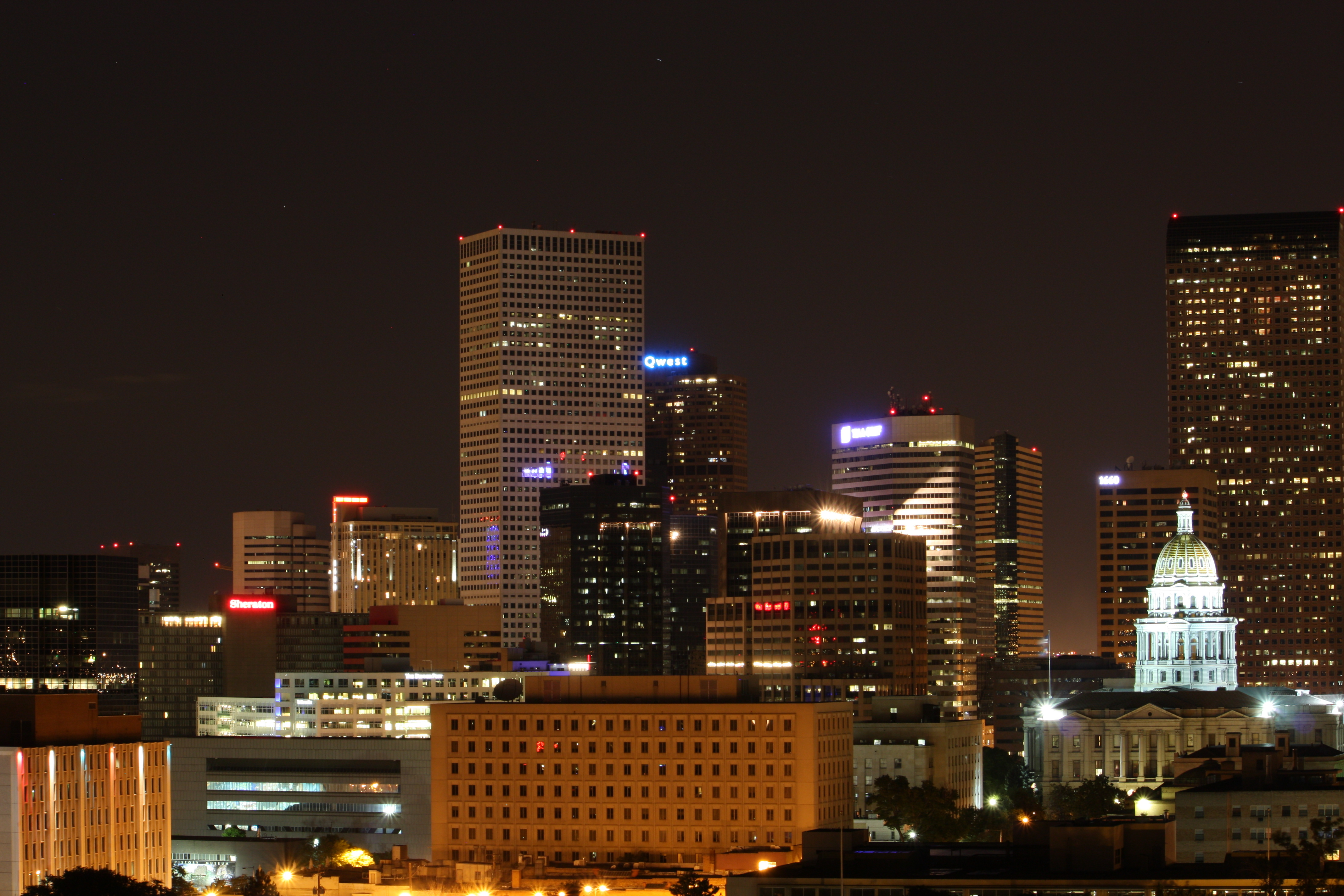 Downtown Denver would not be able withstand accommodating much more car traffic.