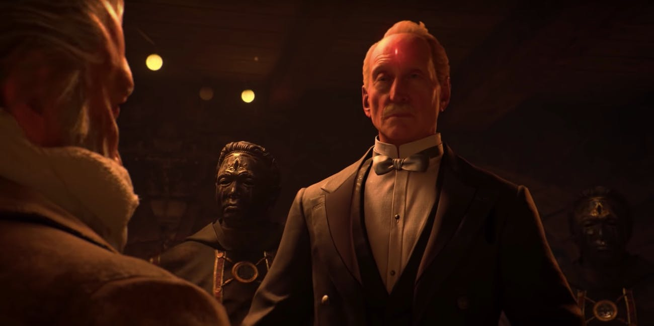 Charles Dance Call of Duty Black Ops 4