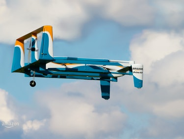 Jeff Bezos Offers New Details on Amazon's Delivery Drones