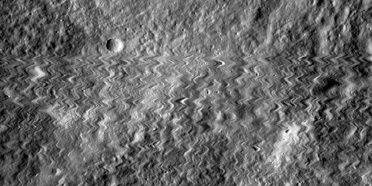 moon munar orbiter spang