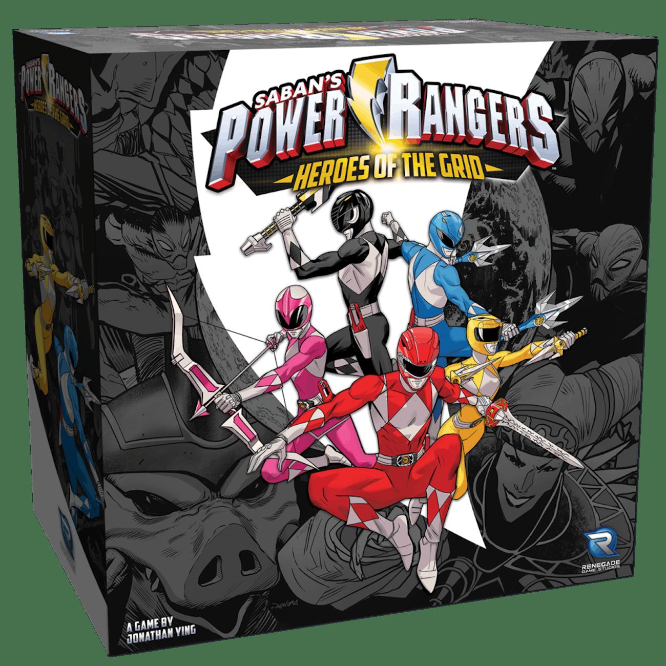 Power Rangers Heroes of the Grid