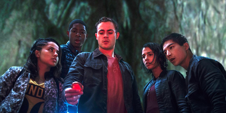 The five Rangers.