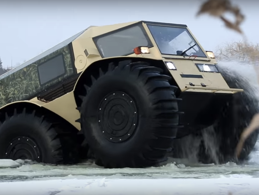 Watch Some Russians Drive an Insane New Apocalypse-Ready Vehicle