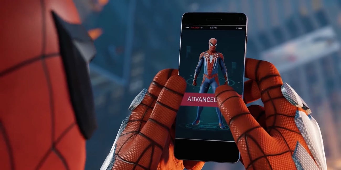 'Spider-Man' PS4 Commercial