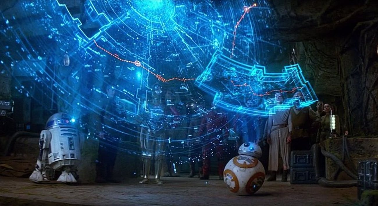 Chances are high that this compass led him to discover the ancient Jedi Temple.