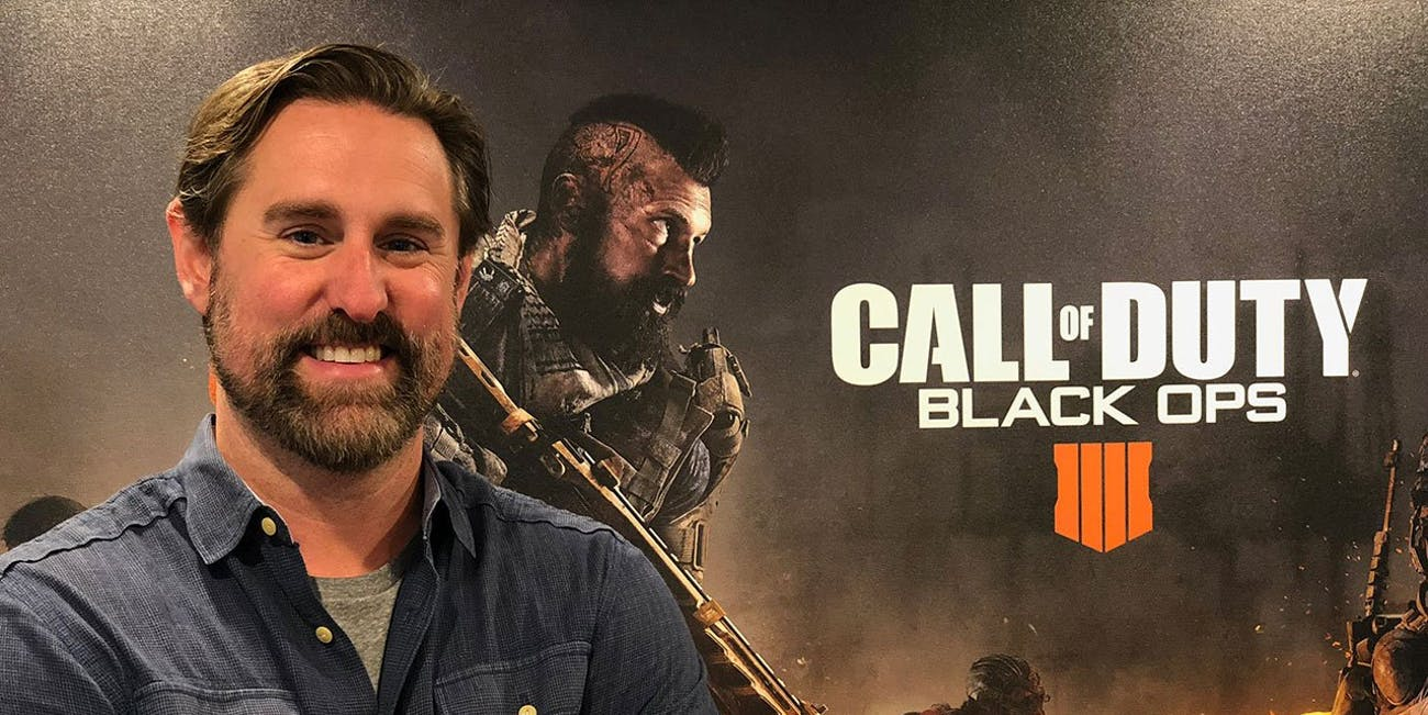 Dan Bunting, Co-Studio Head of Treyarch, developer of 'Call of Duty: Black Ops 4'.