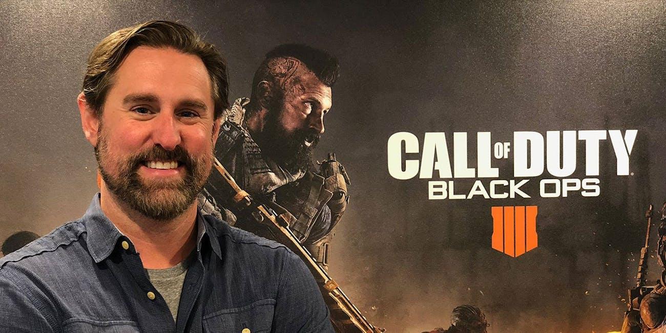 Dan Bunting, Co-Studio Head of Treyarch, developer of 'Call of Duty: Black Ops 4'.