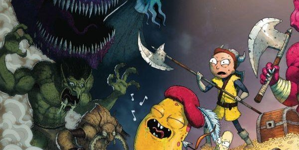 "'Rick and Morty-Dungeons & Dragons' Adventure Is ""Insanity in the Best Way"""