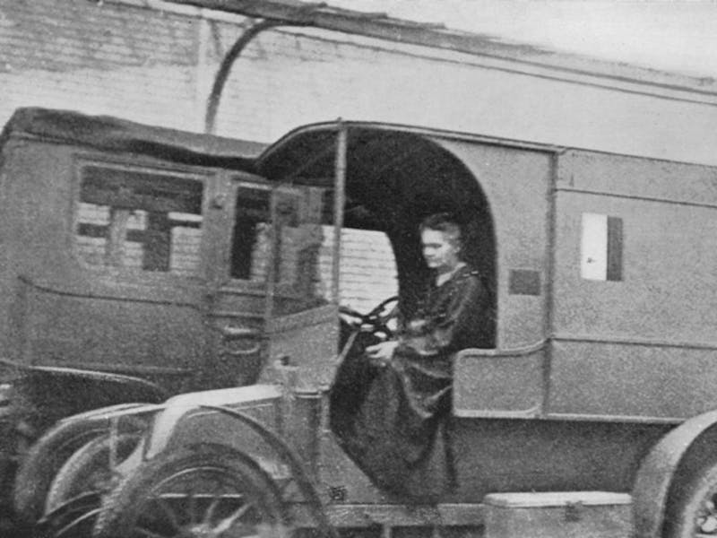Marie Curie x-ray units WWI