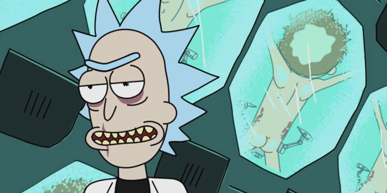 rick and morty season 4 episode 1 theories theory easter eggs AI rick villain