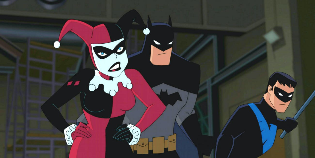 Harley Quinn cartoon porno pics