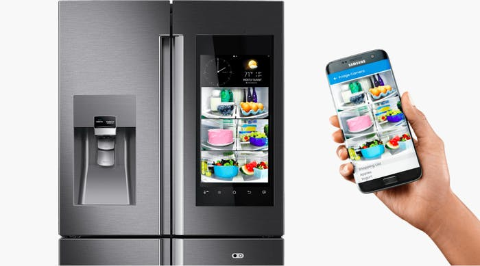 Smartfridges are to blame for the internet apocalypse.